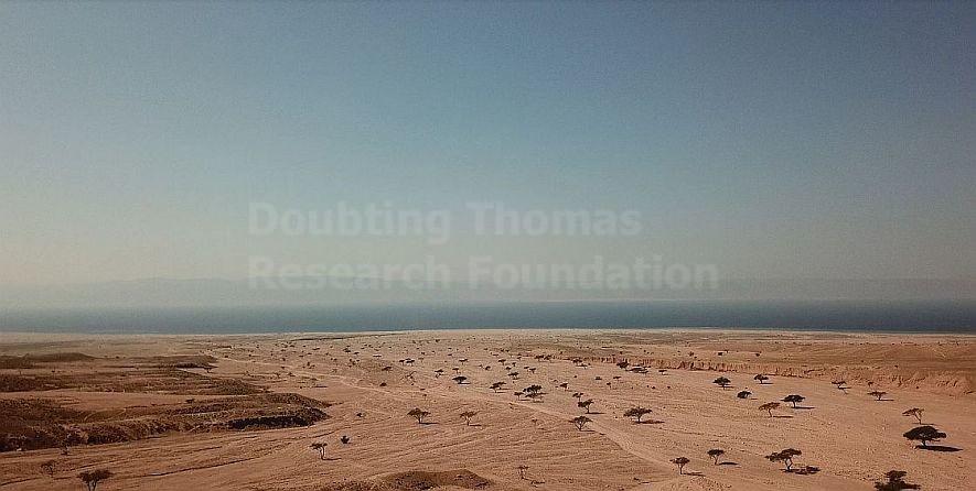 Egypt's Nuweiba Beach.